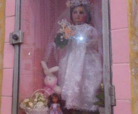 Virgen María Niña Puebla