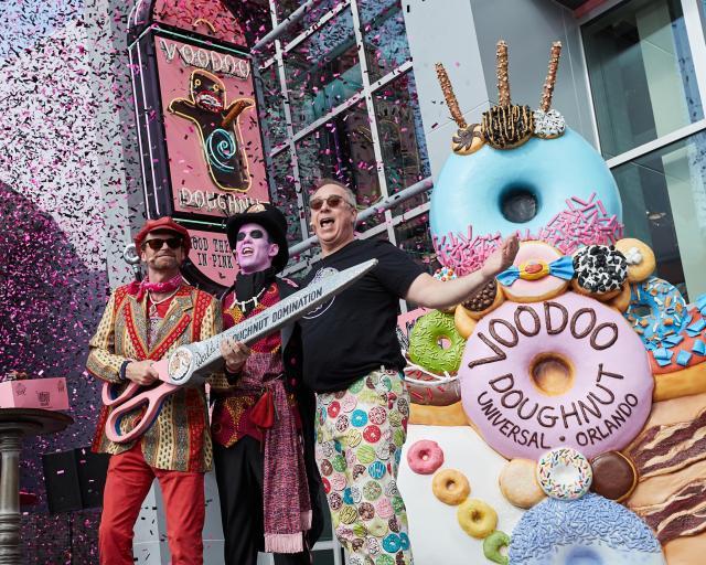 Voodoo Doughnut ya está Oficialmente Abierta en Universal Orlando Resort