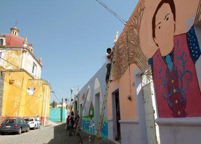 El Barrio de Xanenetla Puebla
