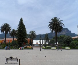 Zócalo de Tlatlauquitepec Puebla