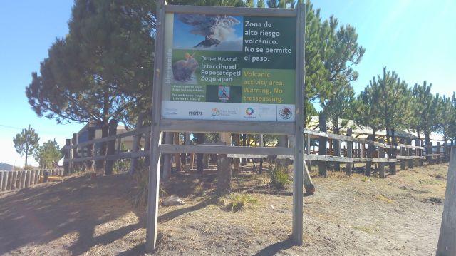 Zona de Alto Riego Volcánico Parque Nacional Izta Popo