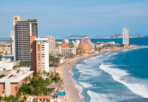 Zona Dorada de Mazatlán